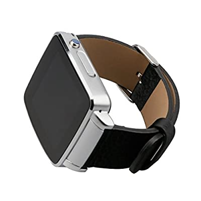 A-szcxtop the New Fashion X6 Bluetooth Smart Touch-screen Can Insert Card Watch Led Mirror for Android and IOS on the Phone