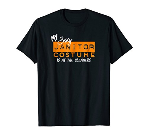 Funny My Sexy Janitor Costume Halloween (Funny Janitor Costumes)