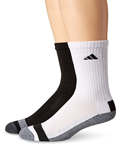 adidas Males's Athletic Crew Socks (6-Pack)