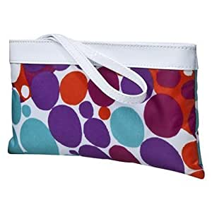 Contents by Allegro Wristlet Cosmetic Bag - Kindy Polka Dot
