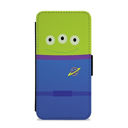 Toy Story Alien Costume Flip / Wallet Phone Case - iPhone 4 / 4s