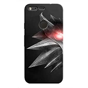Cover It Up - Witcher Wolf Pixel Hard Case