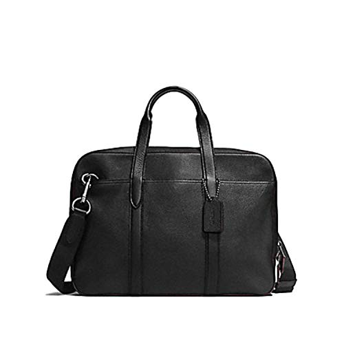 Coach Metropolitan Soft Briefcase Portfolio Laptop Bag in Soft Pebble Leather F72318 ()
