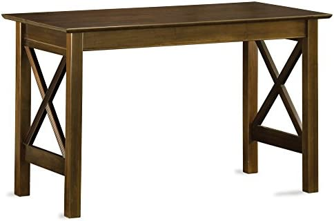 Atlantic Furniture Lexi Writing Desk, Walnut