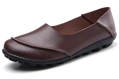 KEESKY Driving Loafers Walking Shoes Women Size 8.5 Slip On Flats by KEESKY