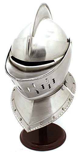 Whetstone Cutlery Medieval Knight's Full Size Armor Helmet by Whetstone Cutlery