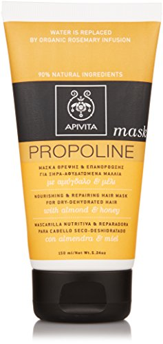 Apivita Nourishing and Repairing Hair Mask, 5.24 Ounce