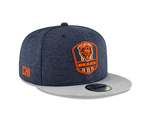New Era Chicago Bears 2018 NFL Sideline Road Official 9FIFTY Snapback Hat