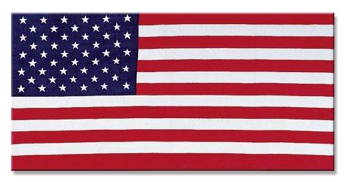 "USA Beach Towel 30""x60"" 100% Cotton (American Flag)"