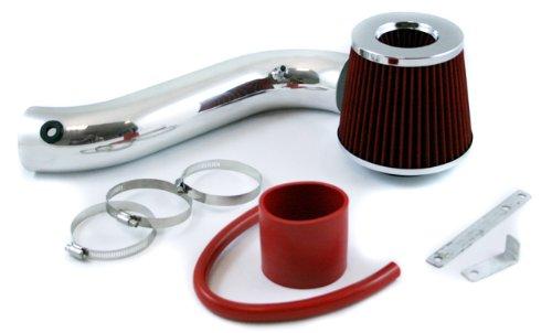 Velocity Concepts Red Short Ram Air Intake Kit + Filter 05-10 Dodge Charger Magnum 08-10 Challenger SE/SXT Model 3.5L - Dodge Magnum 2005 Sxt