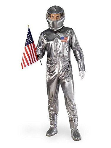 Retro Space Costume (Forum Novelties Silver Astronaut - Adult)