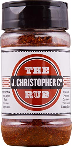 All Purpose & BBQ spice, THE RUB! by J Christopher Co. Low Salt, No MSG, Non-GMO. A new, unique, spice blend & BBQ Rub. #ItsOKtoRUBIt