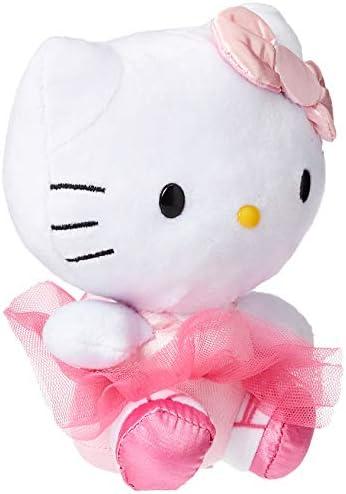 "Ty Beanie Babies Hello Kitty 6"" Rainbow Plush Doll New"