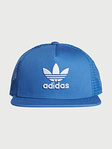 adidas Men's Trefoil Trucker Cap, Bluebird, One Size DM7642