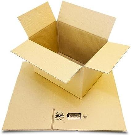 300 Faltkartons 360 x 200 x 200 mm Versandkartons Faltschachteln Falt-Karton