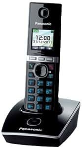Panasonic KX-TG8052SPB - Teléfono inalámbrico digital (importado)