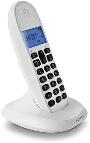 Motorola MOT31C1001B, Teléfono Inalámbrico, Blanco