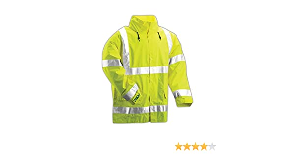 4X-Large Tingley Rubber S75522 CL3 Long-Sleeved T-Shirt with Pocket Lime Green HORIZON DISTRIBUTION