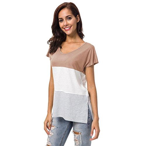 MML Caf Manches Courtes Rond Femme Shirt Col OxFHzOr