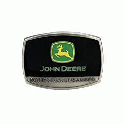 John Deere Nothing Runs Like A Deere Belt Buckle