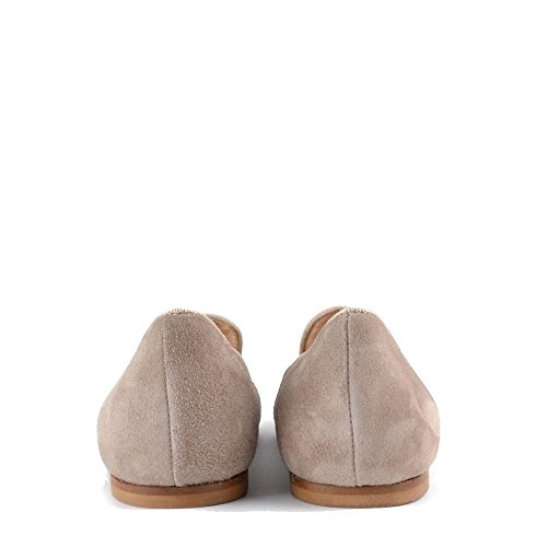 Wildleder B Damen Schuhe Elia Rome Taupe Slippers aus WYW1FA