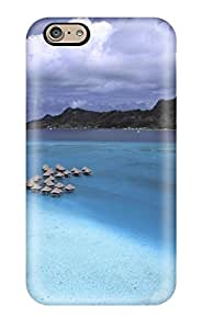 Best Excellent Iphone 6 Case Tpu Cover Back Skin Protector Bora Bora 9321488K50429596