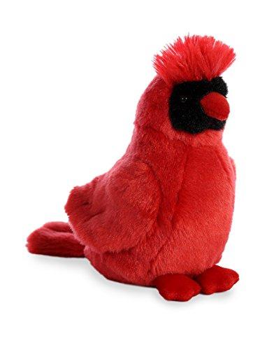 Aurora 31750 World Mini Flopsie Plush Toy Toy, Red - Plush Wild Birds Republic
