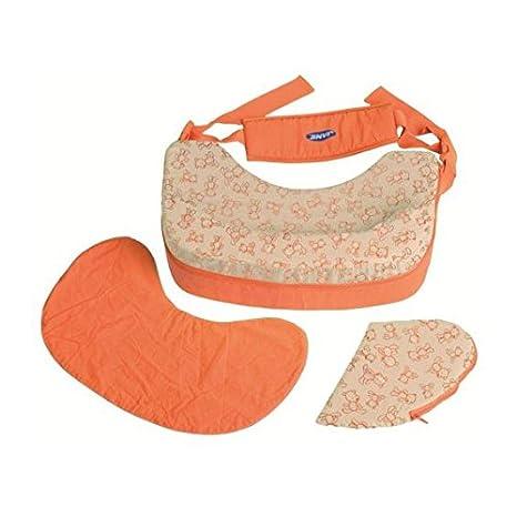 Jané cojín de lactancia Luxe naranja [50267]: Amazon.es: Bebé