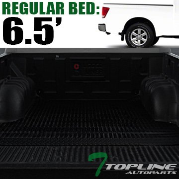 ck Rubber Diamond Plate Truck Bed Floor Mat Liner For 04-18 Nissan Titan ; 16-18 XD 6.5 Feet (78