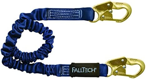 FallTech 8240 ElasTech, Internal Elastic SAL - Adjustable Single Leg with 2 Snap Hooks, 4 1/2' to 6', Blue by Alexander Andrew, Inc. dba FallTech [並行輸入品]