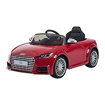 Amazoncom Audi V Kids Electric RideOn Car With MP And Remote - Audi 6v ride toy cars