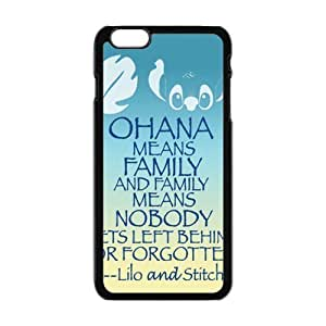 Cool Painting Lilo And Stitch Cell Phone Case for Iphone 6 Plus