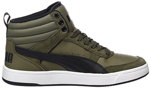 V2 Basses Night Puma Vert Adulte Street Rebound Olive Mixte Sneakers black OqwRExZIw