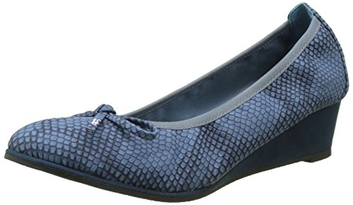 Blu Punta Les Bombes Chiusa Edelweiss Navy Donna P'tites Navy Ballerine Aq0O0anrIw