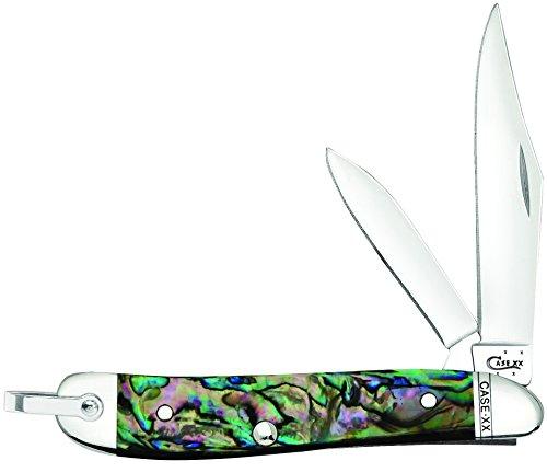 Pocket Knife Abalone Handles - Case Abalone Peanut Pocket Knife