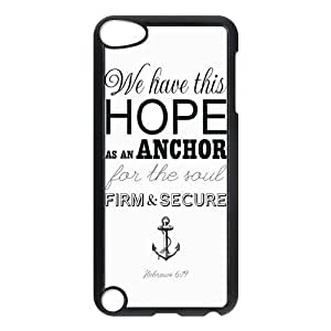 Custom Anchor Back Cover Case for ipod Touch 5 JNIPOD5-360