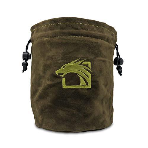 Dragons Play Multipocket Dice Bag (Dark Green)
