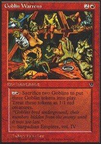 Magic: the Gathering - Goblin Warrens - Fallen Empires