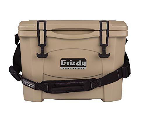 Grizzly 15 Quart Tan/Cooler