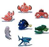 CharmTM Set of 7 Fish Jibbitz PVC Crocs Natives (Generic) Birthday Party Favors