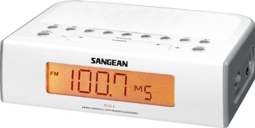 Sangean RCR-5 Digital AM/FM Clock Radio by Sangean