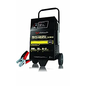 Schumacher (SE-2352-CA) 12V 200 Amp Automatic Wheel Battery Charger with Engine Start