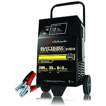 Schumacher Battery Charger Manual >> Amazon.com: Schumacher SE-1555A 12V Automatic Wheeled ...