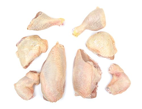Double Certified Organic Chicken Cut in Eights (10.25-10.75 Lbs) - Glatt ()