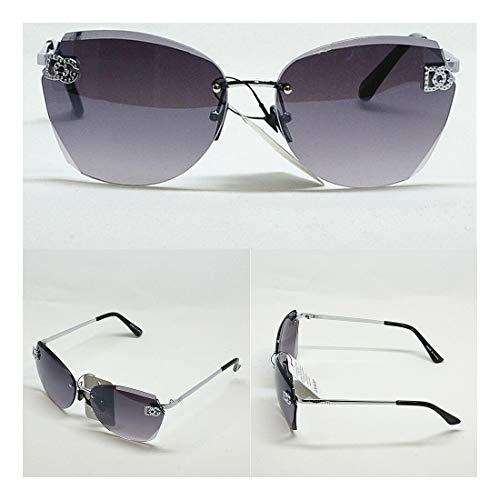 Dg Eyewear Wholesale - Wholesale Women's DG Eyewear Fashion Designer Rimless Oversized Sunglasses 8035