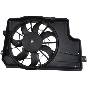 Amazon Com Vdo Fa70841 Radiator Fan Assembly Automotive