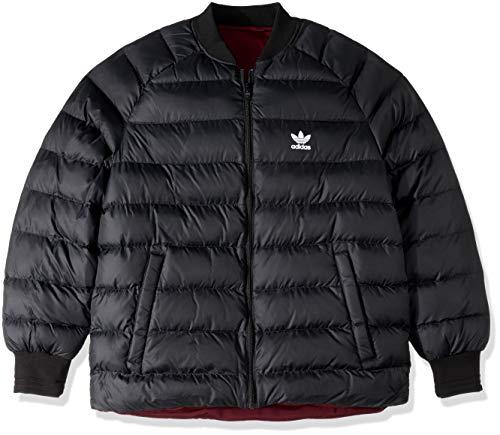 Jacket Adidas Reversible (adidas Originals Men's Superstar Reversible Jacket, Black, S)