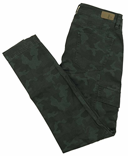 UNIONBAY Supplies by Women's Skinny Stretch Cargo Pants (8, Army -