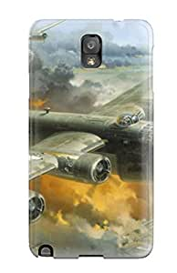 9476217K96188462 Galaxy High Quality Tpu Case/ B24 Liberators Attacking Ploesti Oil Fields Case Cover For Galaxy Note 3
