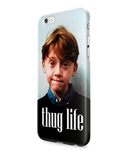 Ron Weasley Thug Life Plastic Snap-On Case Cover Shell For iPhone 6
